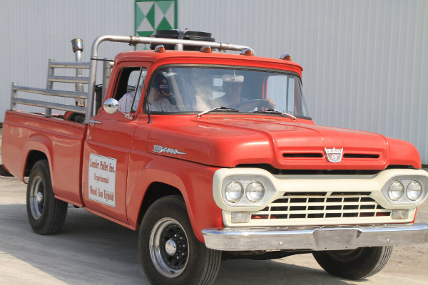 how to build a wood gas truck